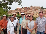 Small group in Rousillon