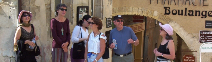 Visit of Gordes in Luberon, Provence, France